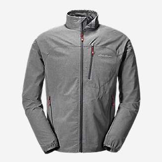 Thumbnail View 1 - Men's Sandstone Soft Shell Jacket