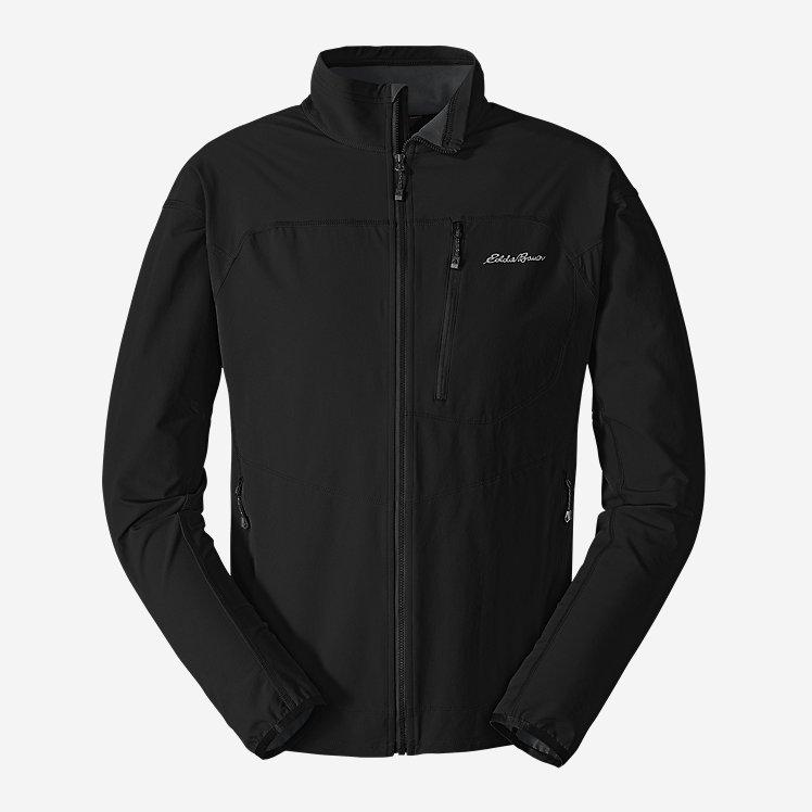 Men's Sandstone Soft Shell Jacket large version