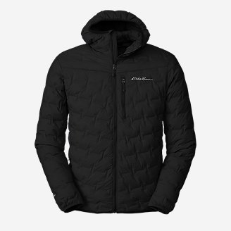 Thumbnail View 1 - Men's MicroTherm® FreeFuse™ Stretch Down Hooded Jacket