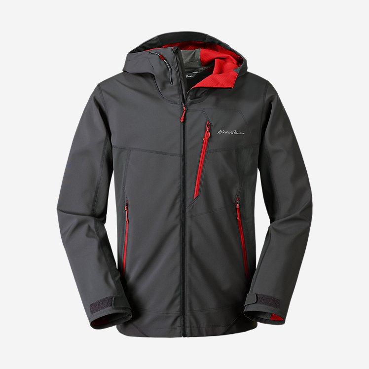 Men's Sandstone Shield Hooded Jacket large version