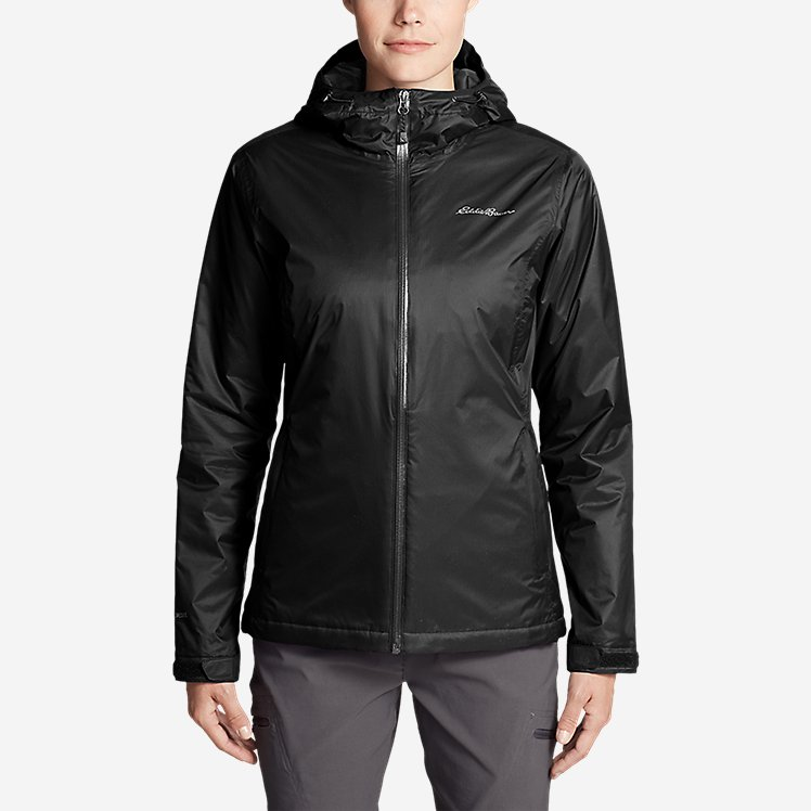 Women's Cloud Cap Insulated Rain Jacket large version