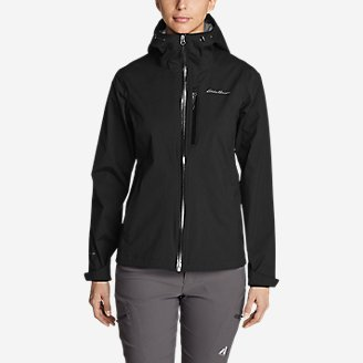 Thumbnail View 1 - Women's Cloud Cap Stretch Rain Jacket