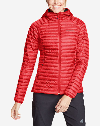 Women's Micro Therm® 2.0 Storm Down® Hooded Jacket by Eddie Bauer