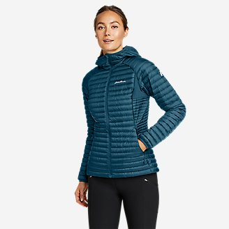 Thumbnail View 1 - Women's MicroTherm® 2.0 Down Hooded Jacket