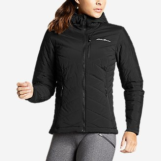 Thumbnail View 1 - Women's IgniteLite Stretch Reversible Hooded Jacket