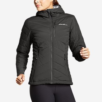 Thumbnail View 1 - Women's IgniteLite Stretch Reversible Hooded Jacket