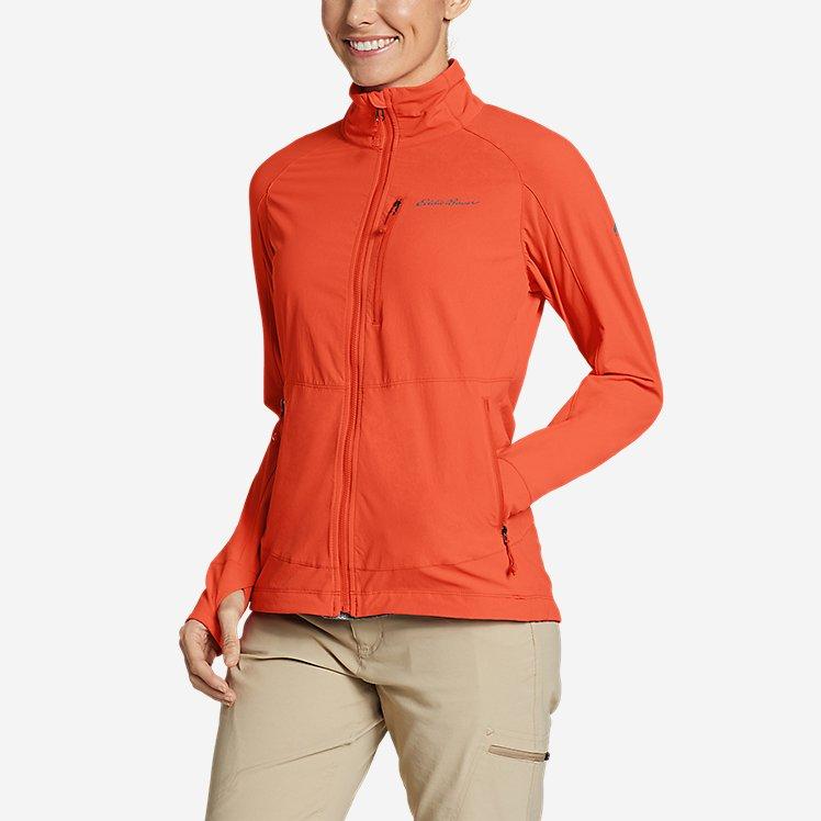 Women's Sandstone Backbone Jacket large version
