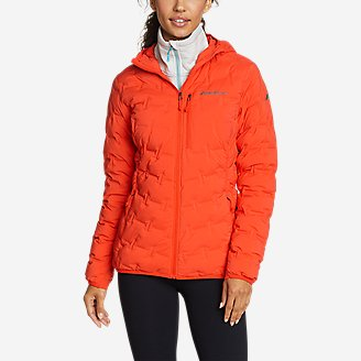 Thumbnail View 1 - Women's MicroTherm® FreeFuse™ Stretch Down Hooded Jacket