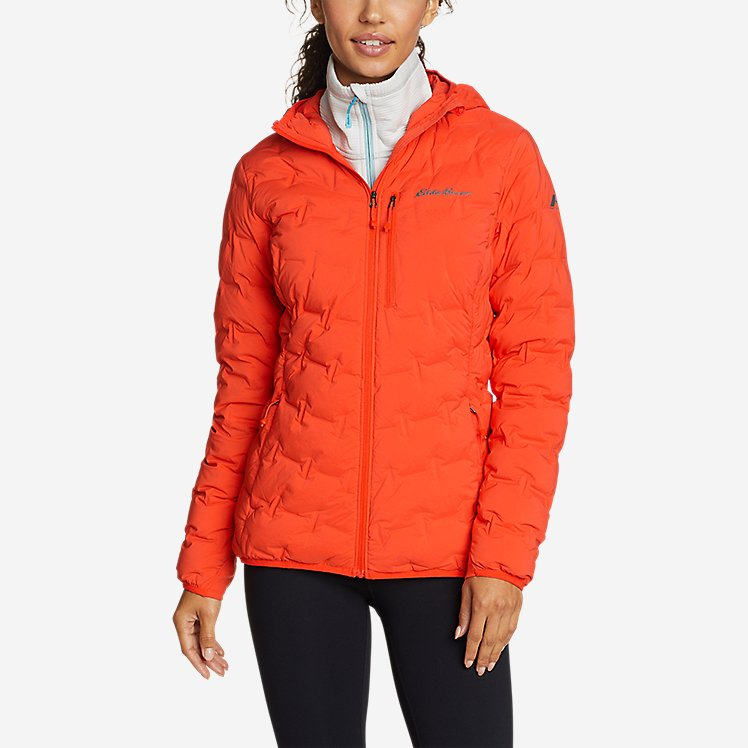 Women's MicroTherm® FreeFuse™ Stretch Down Hooded Jacket large version
