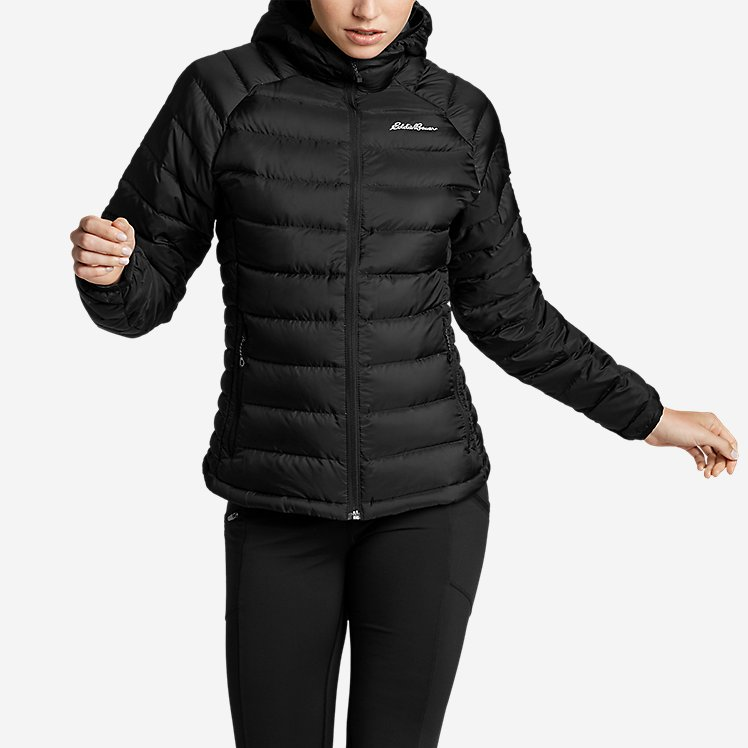 Women's Downlight® Down Hooded Jacket large version