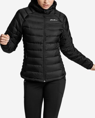 Women's Downlight® Storm Down® Hooded Jacket by Eddie Bauer