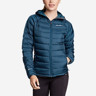 Thumbnail View 1 - Women's Downlight® Down Hooded Jacket