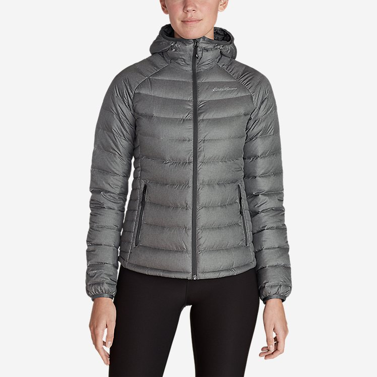 Women's Downlight® Down Hooded Jacket large version