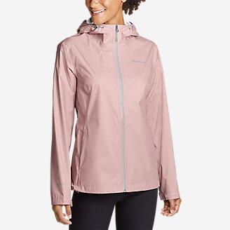 Thumbnail View 1 - Women's Cloud Cap Lightweight Rain Jacket