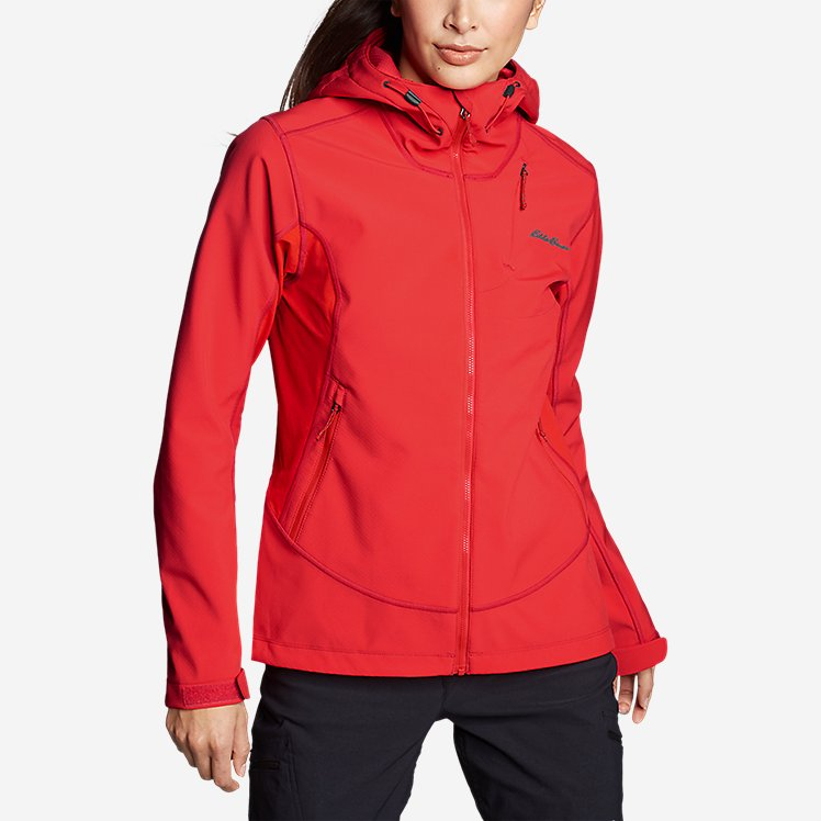 Women's Sandstone Shield Hooded Jacket large version